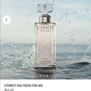 FREE CK eternity with $125 purchase 98% left